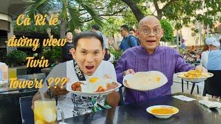 """Food For Good #311: Cà ri Malay vỉa hè view """"đỉnh"""" nhất thế giới !!!"""
