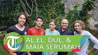 Maia Estianty Beberkan Cerita Kembali Serumah dengan Al, El dan Dul