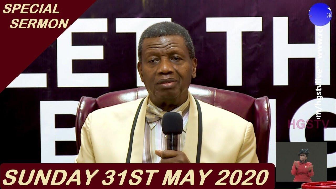 MFM Live Sunday Service 31st May 2020, MFM Live Sunday Service 31st May 2020 by  Dr D. K. Olukoya