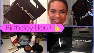 Birthday Haul! Sephora & MAC | samantha jane