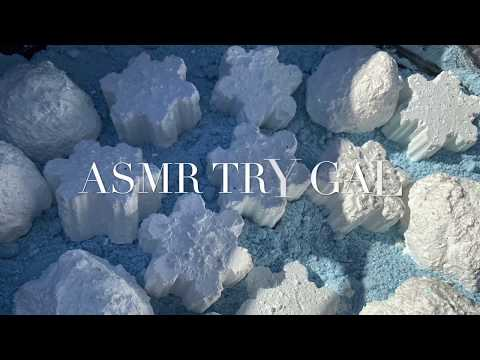 ASMR Snowflakes and Snowballs | Reformed Gym Chalk