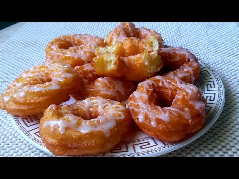 Пончики /Воздушная вкуснятина к чаю за 20 минут/ Air donuts