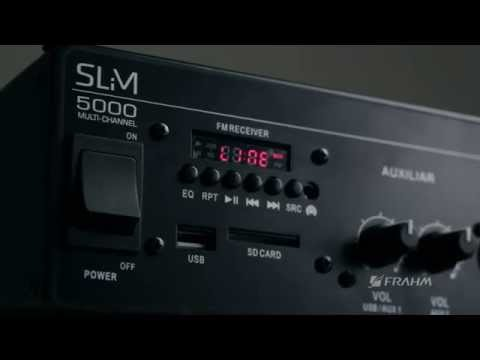 Amplificador Frahm Slim 5000 multi-channel