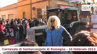 preview picture of video 'Carnevale di Santarcangelo di Romagna (RN) 10 febbraio 2013'