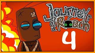 Прохождение Journey of a Roach -4- Мы полетим на Луну!