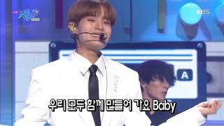 빛(원곡:H.O.T) - AB6IX (에이비식스) [뮤직뱅크 Music Bank] 20191018