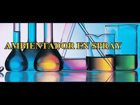 ambientador spray