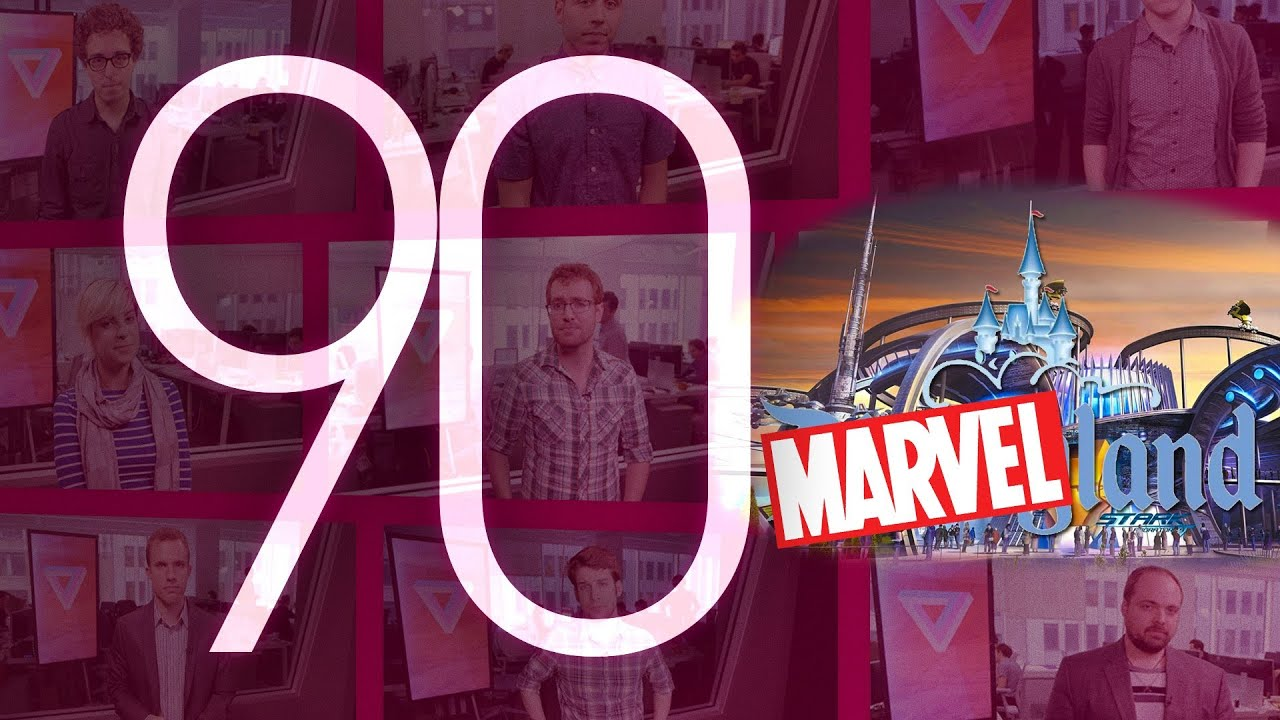 Apple, NASDAQ, and Marvel Experience: 90 Seconds on The Verge thumbnail