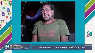 Gerardo Gallo, Centro de Formación Integral