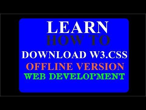 W3schools Offline website download latest version - смотреть