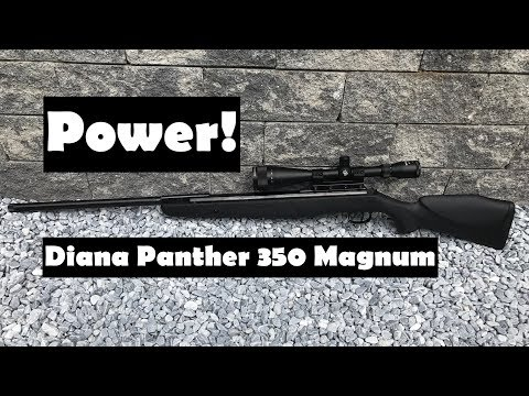 #Diana #Panther 350 #Magnum CBB #Luftgewehr Review Shooting Test