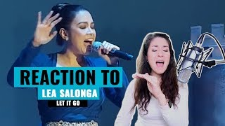 "Vocal Coach Reaction & Analysis to Lea Salonga ""Let It Go"""