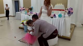 Лучшая свадьба , предложение дочери и рэп для невесты на свадьбе , от жениха