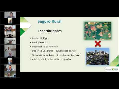 Seguro rural é tema de palestra