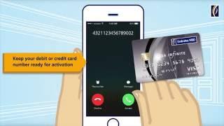 Activate Your Debit or Credit Card With Text2Call تفعيل بطاقة الائتمان أو الخصم عبر خدمة TEXT2CALL