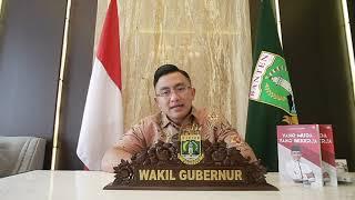 Pemaparan Wakil Gubernur Banten PKKMB 2021 Untirta