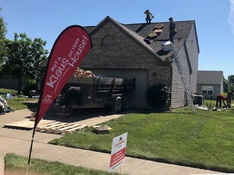 Roof Replacement Time Lapse in Avon, IN