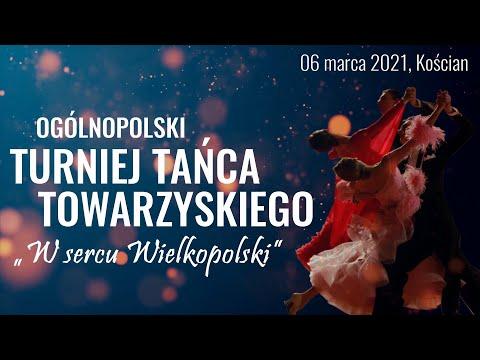 Wideo1: Ogólnopolski Turniej Tańca Towarzyskiego w Kościanie