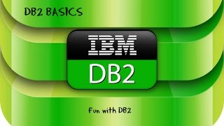 DB2 Basics Tutorial  Part 1