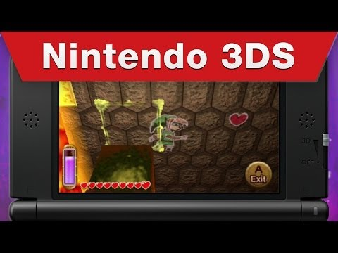 The Legend of Zelda: A Link Between Worlds má dva nové trailery