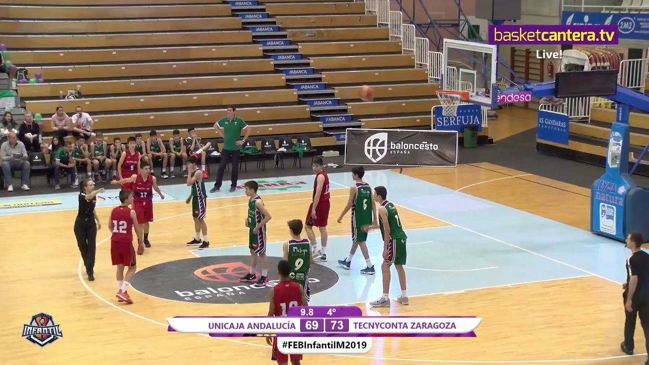 U14M - UNICAJA vs. TECNYCONTA ZARAGOZA - 7/8 - Campeonato de España Infantil Masculino