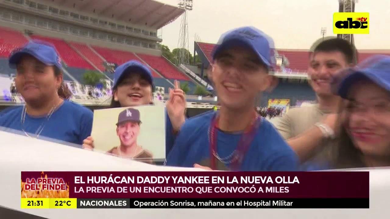La previa de Daddy Yankee en Asunción