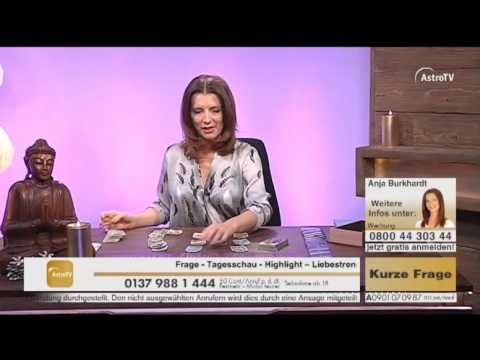 Kartenlegen mit Anja Burkhardt Live auf AstroTV-HD