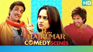 R Rajkumar Hindi Movie – Best Comedy Scenes | Shahid Kapoor Sonakshi Sinha & Sonu Sood