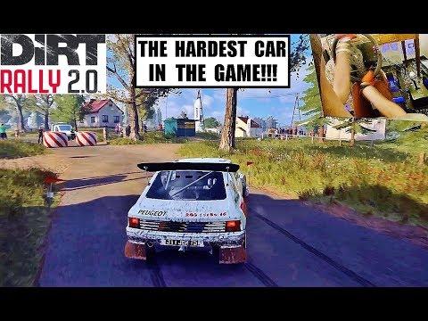 DiRT Rally 2.0 - Peugeot 205 T16 Group B