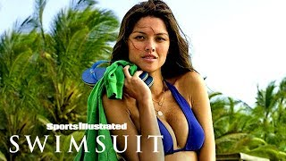 Aline Nakashima Unties & Unwinds Behind The Scenes In Brazil | Sports Illustrated Swimsuit