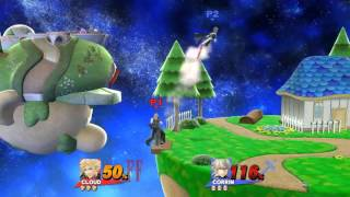 Super Smash Bros. for Wii U #24 - Cloud (Me) vs. Corrin (Conra)