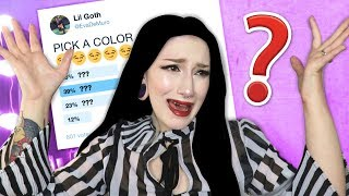 I Let My Instagram Followers Pick My Hair Color + 100,000 Subscribers Reaction