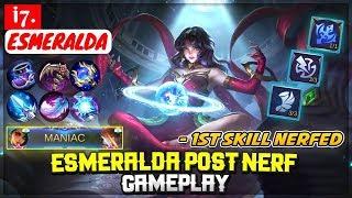 gameplay hero esmeralda mobile legends - TH-Clip