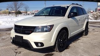preview picture of video '2014 Dodge Journey SXT Blacktop | MacIver Dodge Jeep | Newmarket Ontario'