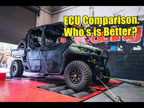 Dyno Testing The Can-Am Defender HD10 ECU Flash