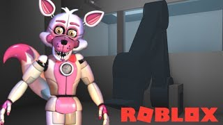 Using The Scooper on Animatronics in Roblox Animatronic World