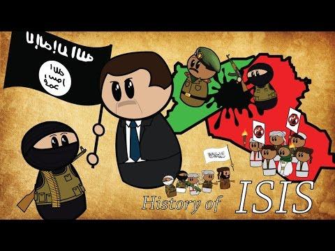 Анимираната история на Ислямска държава
