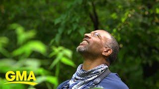 After Racist Park Encounter, Chris Cooper Takes Us Birding In Central Park L GMA Digital