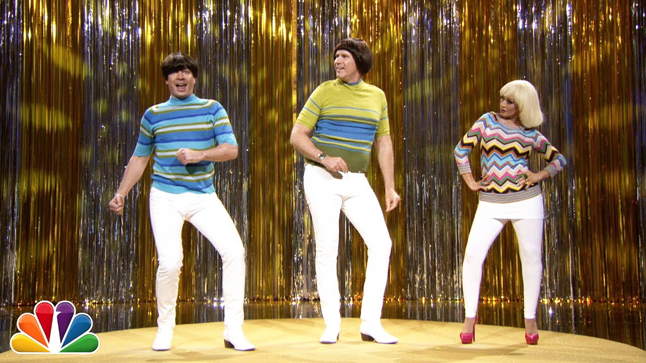 """Tight Pants"" with Jimmy Fallon, Will Ferrell & Christina Aguilera thumbnail"