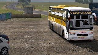 🔴 ETS2 VRL Travels Volvo Sleeper Bus Mod - [Mumbai - Bangalore]