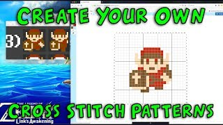 How To: Create Your Own Cross Stitch Pattern