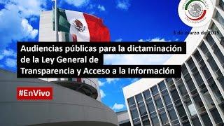 Ley General de Transparencia y Acceso a la Información