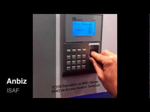 Teste de terminal biométrico Anviz passível de fraude