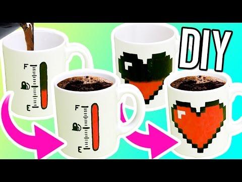 Zaubertassen mit Farbwechsel - Magisches Kaffekränzchen