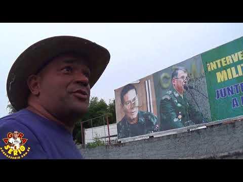 Picharam com força o Outdoor da Intervenção Militar em São Lourenço da Serra