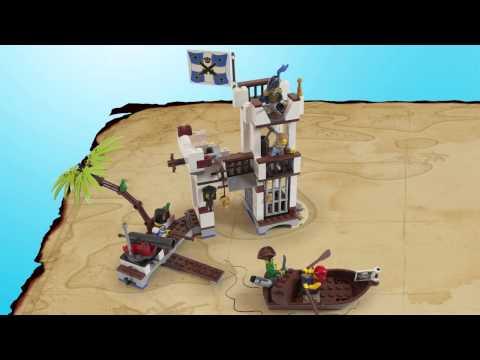 Vidéo LEGO Pirates 70412 : Le fort des soldats