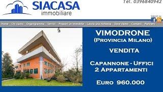 preview picture of video 'VIMODRONE Capannoni - Showroom - Uffici - Magazzini in Vendita (Milano) - Siacasagroup.com'