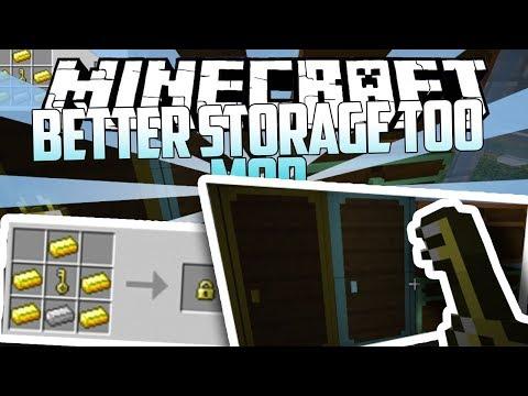 Minecraft: Better Storage Too Mod ( MOD SHOWCASE )