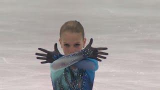 Alexandra TRUSOVA RUS :Brisbane Ladies Free skating - ISU JGP 2017