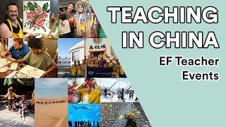 Teaching in China: EF Teacher Events